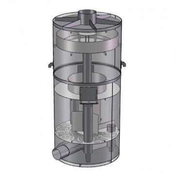 Деаэратора вакуумный ДВ-75 (75 м.куб/час)