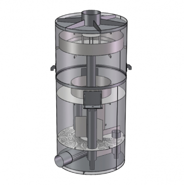 Деаэратора вакуумный ДВ-300 (300 м.куб/час)