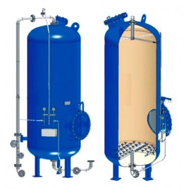Фильтр ионитный второй ступени ФИПа-II-1,0-0,6