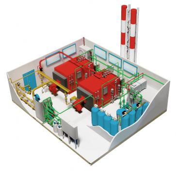 МТКУ-3,0 (водогрейная) мощность: 3,0 МВт