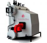 Паровой котел 6,5 т. пара/час (топливо: газ, жидкое)