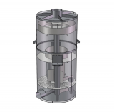 Деаэратора вакуумный ДВ-150 (150 м.куб/час)